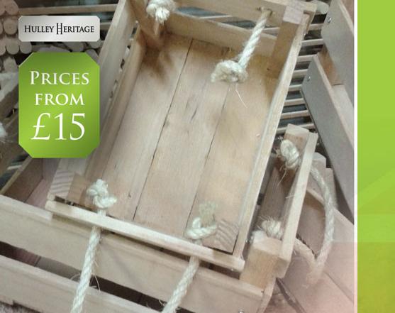 Hulley Heritage Handmade Crates